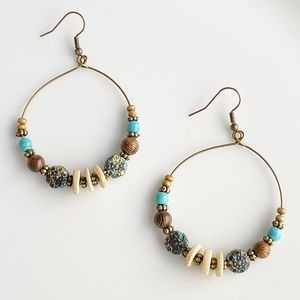 Jewelry - NEW Charm Bronze Earrings